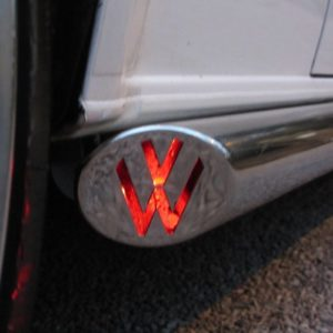 T5 Vee Dub Streamlines Mirror Polished Stainless Steel LED - LWB