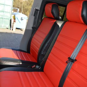 T4 Seat Covers - Red