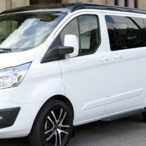 Ford Transit Custom N/S/Rear (LWB L2) (Nearside)