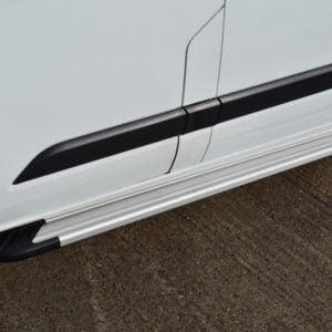 Transit Custom Running Boards / Side Steps - Aluminium (SWB)