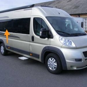 Fiat Ducato O/S/Middle LWB (L3) (Offside)