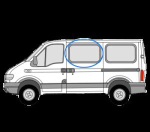 Renault Master 1997 > 2010 *OPENING WINDOW* N/S/F (SWB,MWB,LWB) (Nearside)