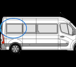 Renault Master 2010> O/S/Rear (LWB) (Offside)