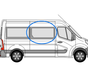 Renault Master 1997 > 2010 *OPENING WINDOW* O/S/F (Offside)