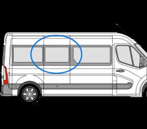 Renault Master 2010> O/S/Middle (LWB) (Offside)