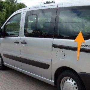 Peugeot Expert N/S/Rear (SWB) (Nearside)