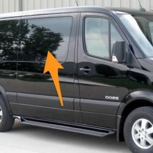 Mercedes Sprinter *OPENING WINDOW* O/S/F SWB (Offside)