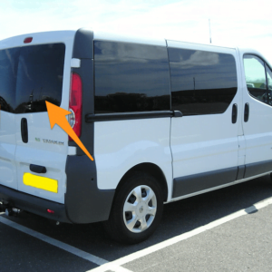 Renault Trafic Offside Back Door Glass In Privacy Tint