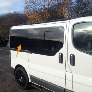 Renault Trafic O/S/Rear SWB *FOR SLIDING DOOR - RARE*