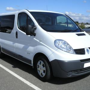Renault Trafic O/S/Rear SWB (Offside)
