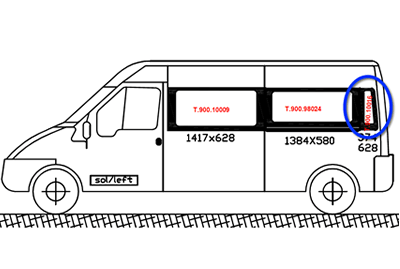 Ford Transit N/S/Rear Quarter (LWB) (Nearside)