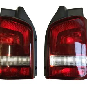 T5 & T5.1 Smoked Red & Clear Rear lights Tailgate 9264/9265