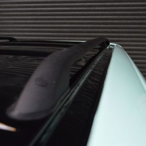 T4 Black Aluminium Roof Rails - SWB