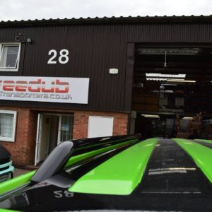 T5 42mm Gloss Black Steel Roof Bars - LWB
