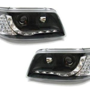 T5 Black DRL Headlamps LED Indicator (9055)
