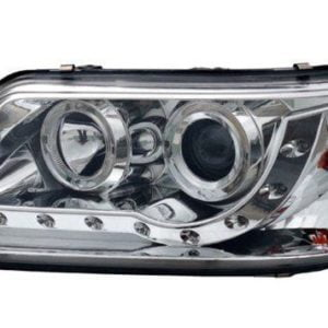 T5 Chrome LED DRL Headlamps Normal Indicator 9045