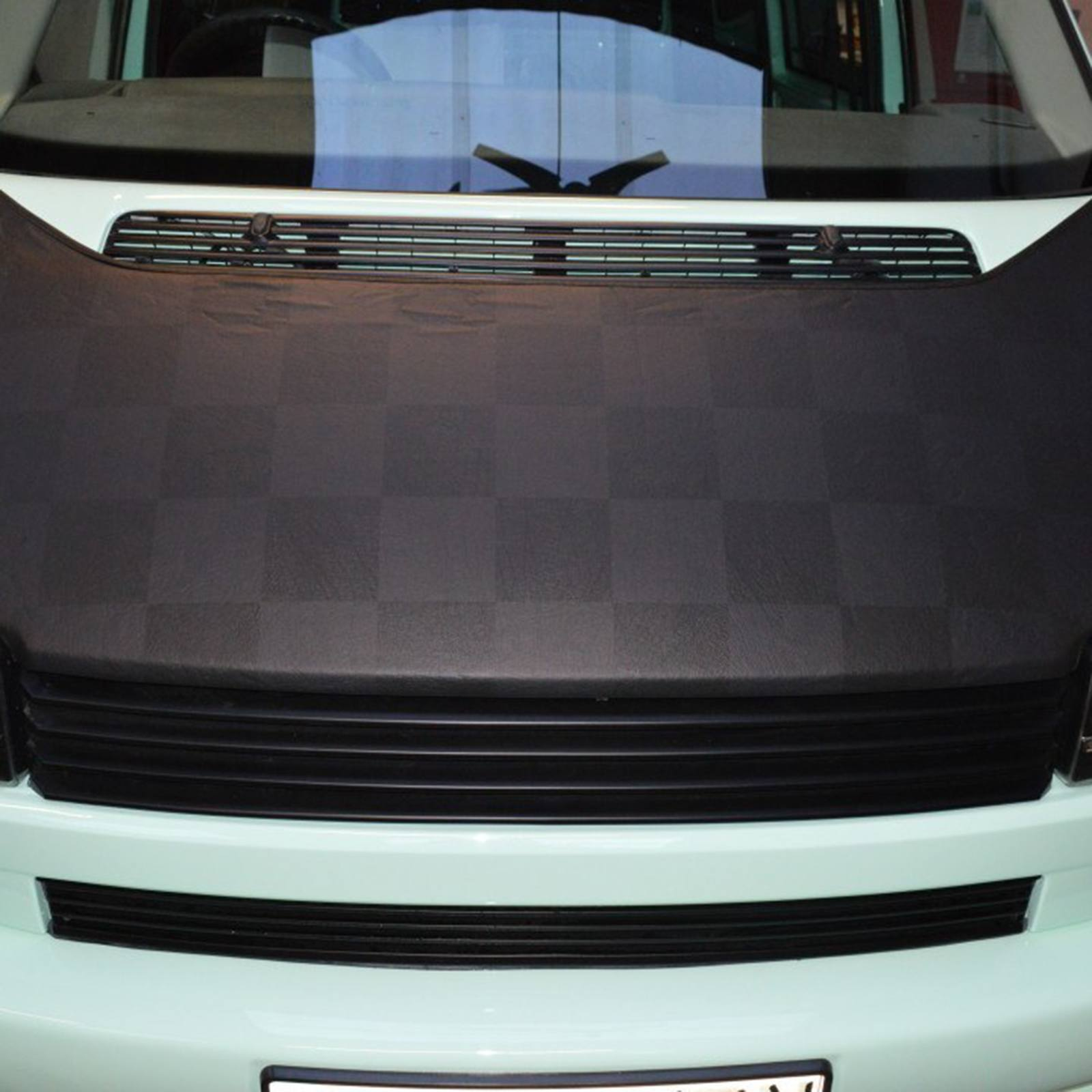 T4 Black & Grey Chequered Bonnet Bra SHORT NOSE