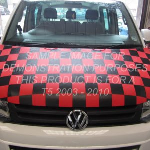 T5 Red & Black Chequered Bonnet Bra
