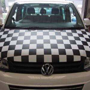 T5.1 Facelift 2010> Black & White Chequered Bonnet Bra
