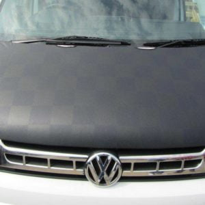 T5.1 Facelift 2010> Black & Grey Chequered Bonnet Bra