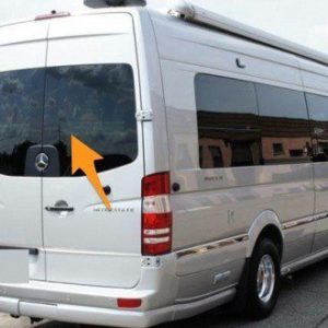 Sprinter/Crafter Offside Back Door Glass In Privacy Tint